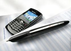 pen and blackberry