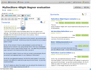 ALUIAR Synote screen shot