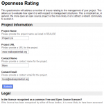 openness rating test