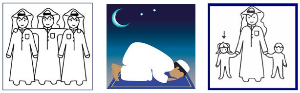 Arabic symbol samples