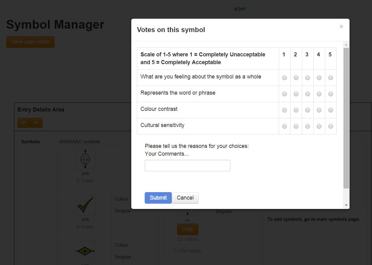 voting criteria