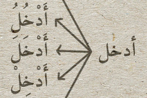 Arabic verb analyser